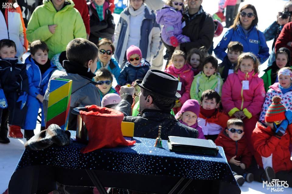 spettacolo di magia per bambini i