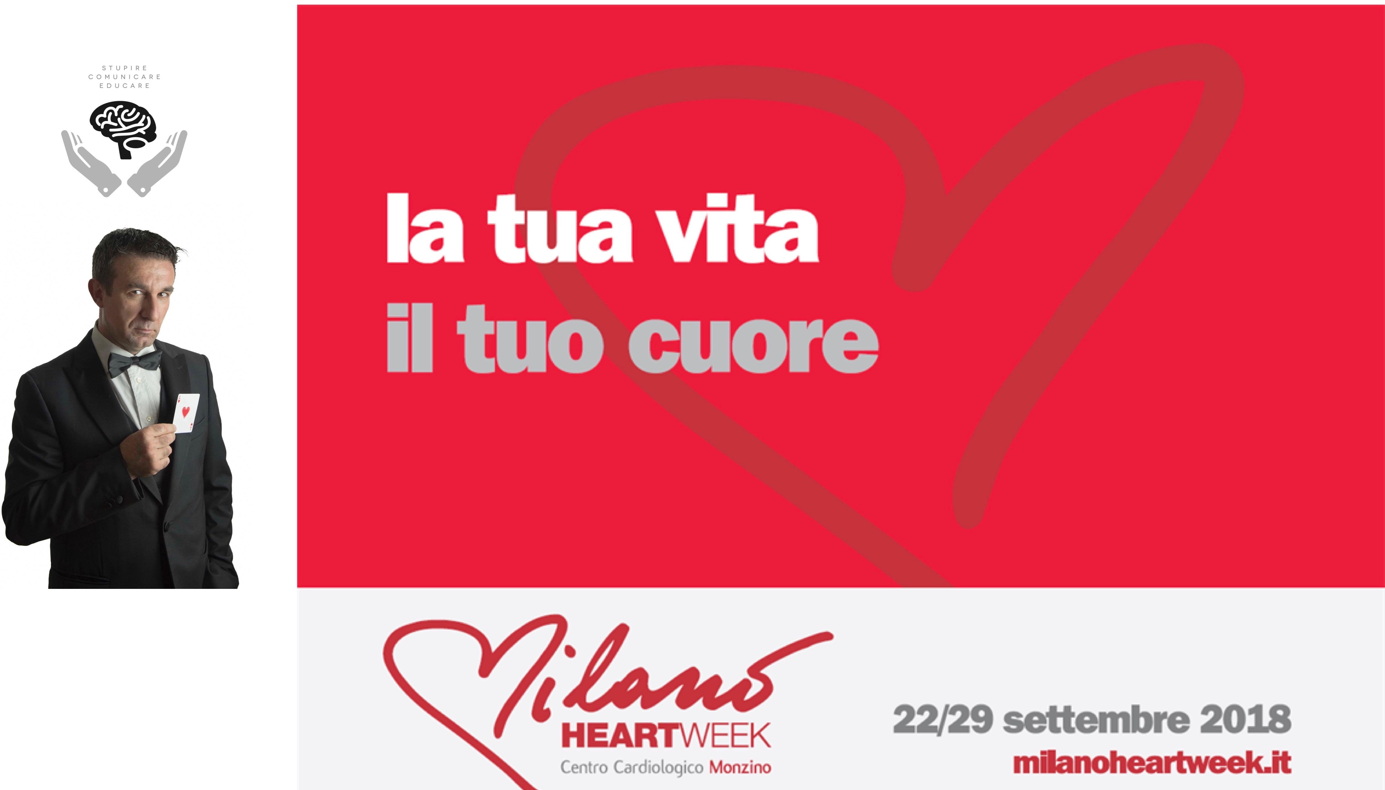 Infotainer Gianvito per Milano Heart week